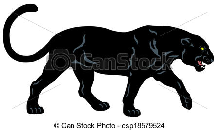 Black Panther clipart Graphic Panther: Image  graphic