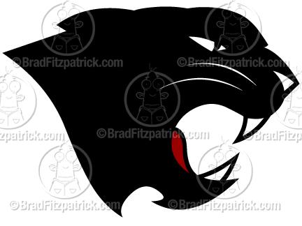 Black Panther clipart logo Silhouette Black Panther Black Panther