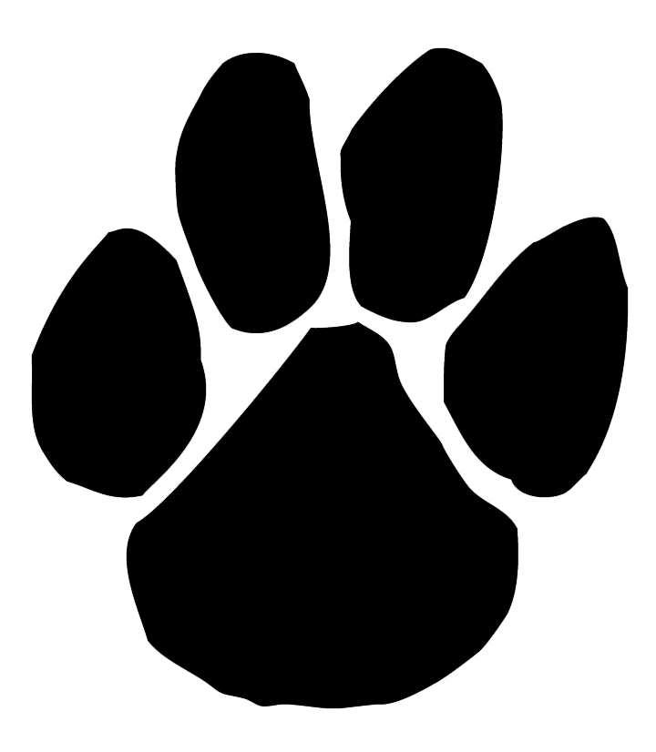 Paw clipart panthers Paw Panthers cliparts Clipart Panther