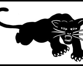 Black Panther clipart polynesian Black Etsy sticker Self Panther