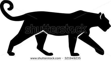 Black Panther clipart puma Stock Shutterstock Vektorgrafiken Art Art