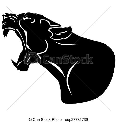 Dead clipart panther Of tu puma black