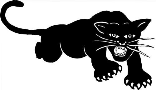 Black Panther clipart transparent October 15th the Party 1966