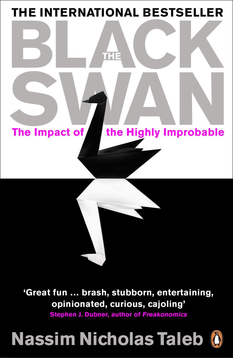 Black Swan clipart nassim taleb 1 The 1 Part Looking