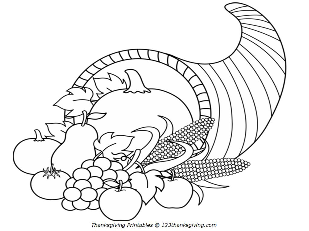 Cornucopia clipart lot food And Black Thanksgiving With Thanksgiving