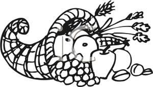 Cornucopia clipart cranberry Clip Clipart Art Clipart Cornucopia