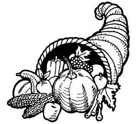 Cornucopia clipart cranberry Small Art Library Cliparts Clip
