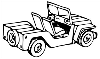 Black & White clipart jeep Munitions%20clipart Panda Clipart Black Jeep