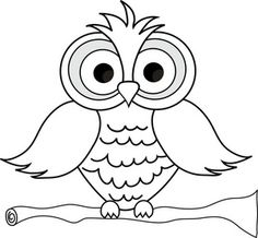 Owlet clipart black and white White of and black owl