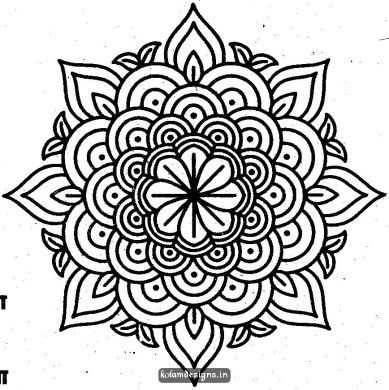 Black & White clipart rangoli Pinterest Rangoli on 361 best