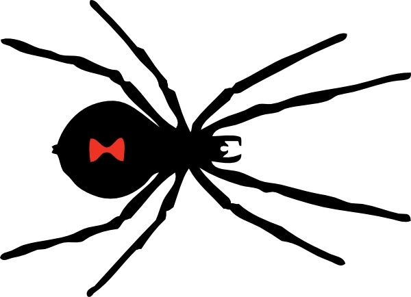 Black Widow clipart Widow Black clip clip svg