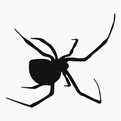 Black Widow clipart Spider Poisonous art Art clip