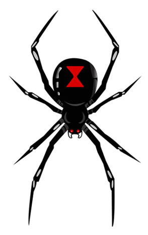 Black Widow clipart Black Black clipart #4 Widow