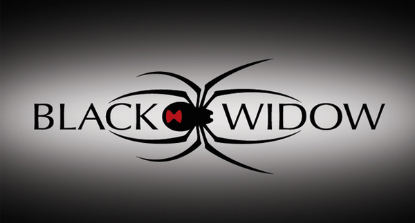 Black Widow clipart animated Com  at as: Logo