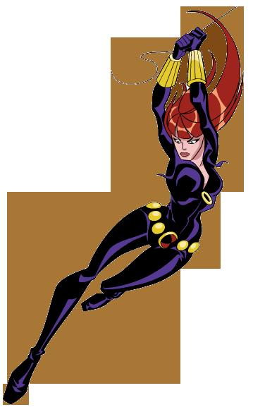 Black Widow clipart cartoon Clip art clipart avengers Black