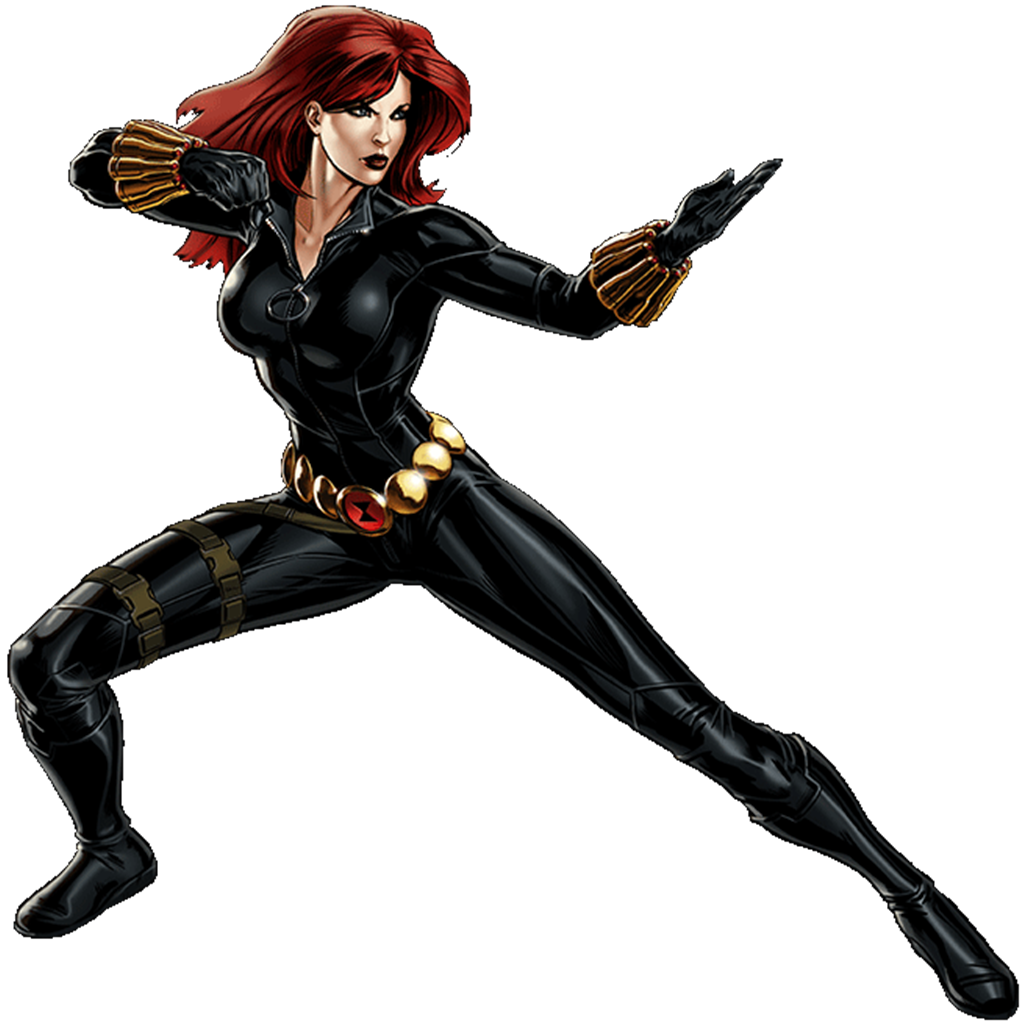 Black Widow clipart cartoon Black Widow MC Universe Black
