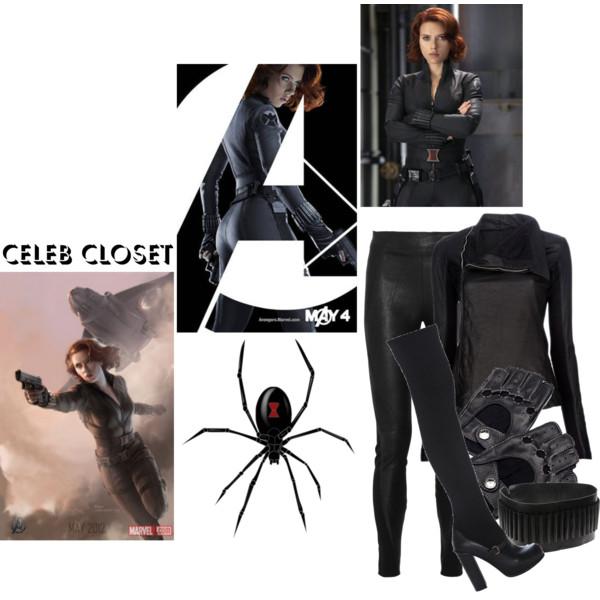 Black Widow clipart cartoon Boots skinny Johansson Scarlett May