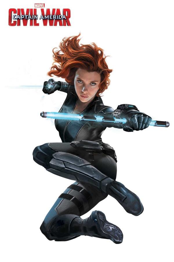 Black Widow clipart superhero Releases 6 CW Black