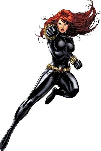 Black Widow clipart superhero Black Widow Cartoon