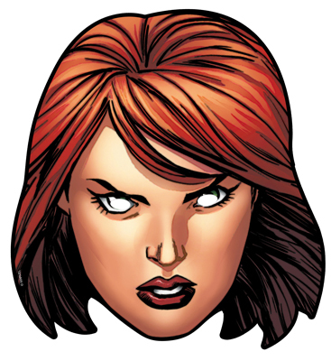 Black Widow clipart superhero family The Face Marvel's Party from