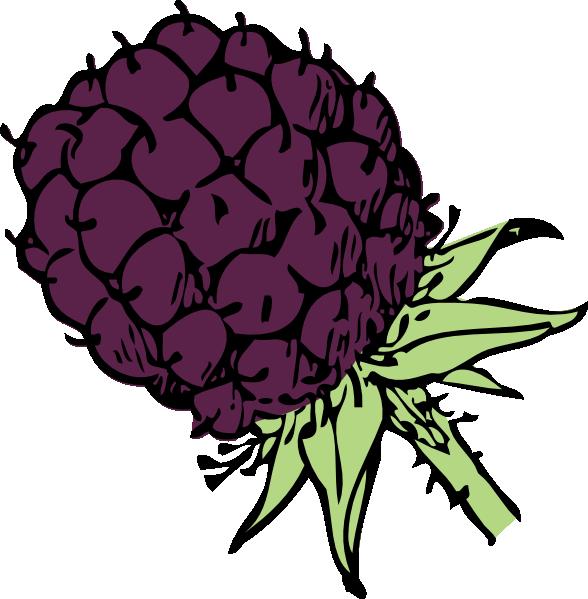 Blackberry clipart blackberry bush This art as: image Clker