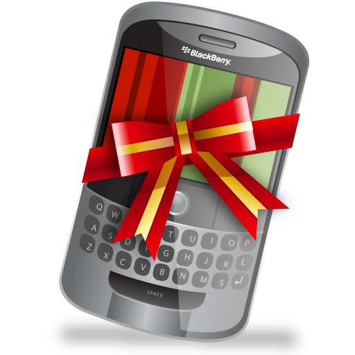 Blackberry clipart cell phone Icon Blackberry pixel 512x512 Christmas