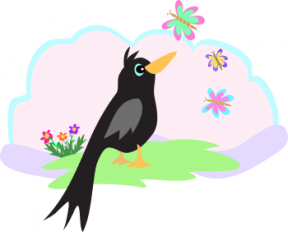 Blackbird clipart cartoon Blackbird Greys Anatomy Cliparts Zone