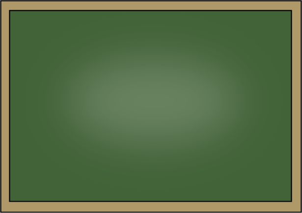 Blackboard clipart science Chalkboard 2 green chalkboard Green