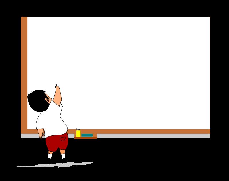 Blackboard clipart animated Books presentations Use child a