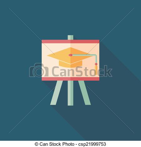 Blackboard clipart long The csp21999753 of hat Vector