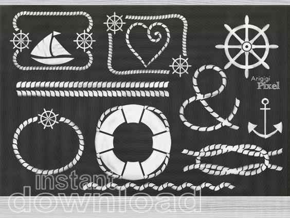 Blackboard clipart animated 12 white ArigigiPixel nautical by