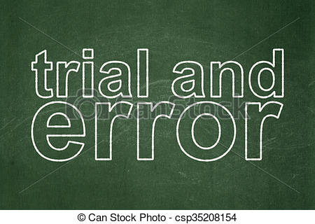 Blackboard clipart science Background of Error concept:
