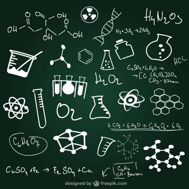 Blackboard clipart science De Blackboards negro escola Lição