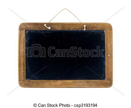 Blackboard clipart slate School School black csp3193194 board