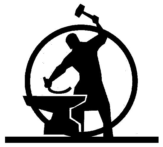 Blacksmith clipart steel worker Silhouette Silhouettes clip Blacksmith Google