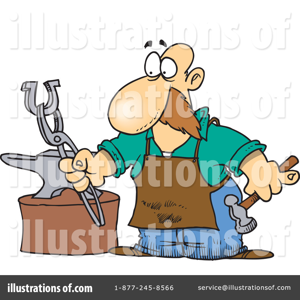 Blacksmith clipart steel worker Leishman Leishman by (RF) by