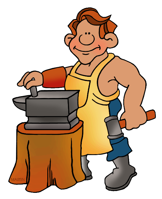 Blacksmith clipart steel worker Clipart #20 Download Download Blacksmith