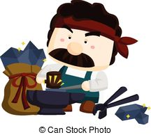 Blacksmith clipart 284  Clipartby Vector 1