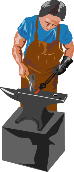 Blacksmith clipart Clipart #9 clipart Blacksmith drawings