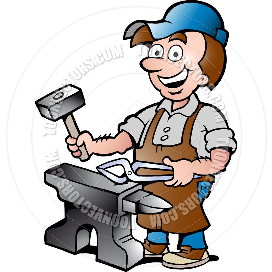 Blacksmith clipart Clipart Blacksmith