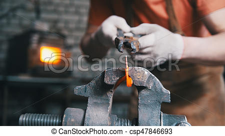 Blacksmith clipart iron metal Bending Blacksmith of is workshop