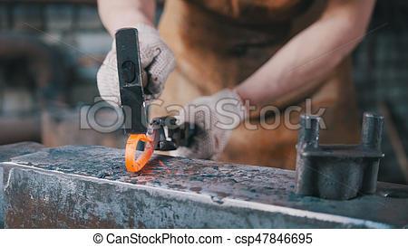 Blacksmith clipart iron metal The The Stock close Photo