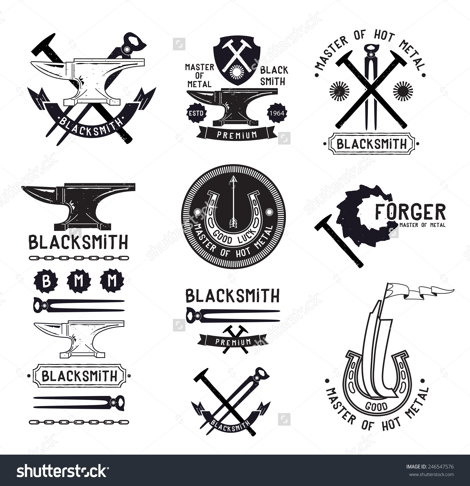 Blacksmith clipart logo By on S Discover more
