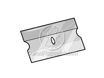 Razorblade clipart Illustration Royalty Blade Blade Stock