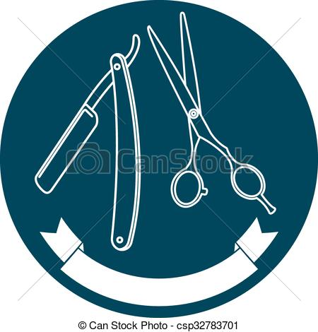 Blade clipart barber Shop logo of shop logo