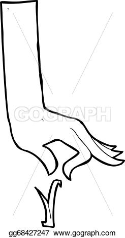 Blade clipart drawing Grass  hand Vector Drawing