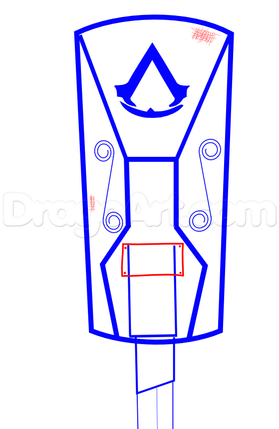 Blade clipart drawing By how a assassins style