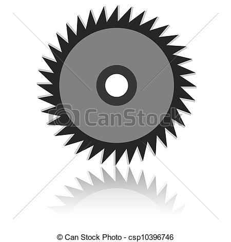 Blade clipart drawing Csp10396746 Circular blade Vector Vector