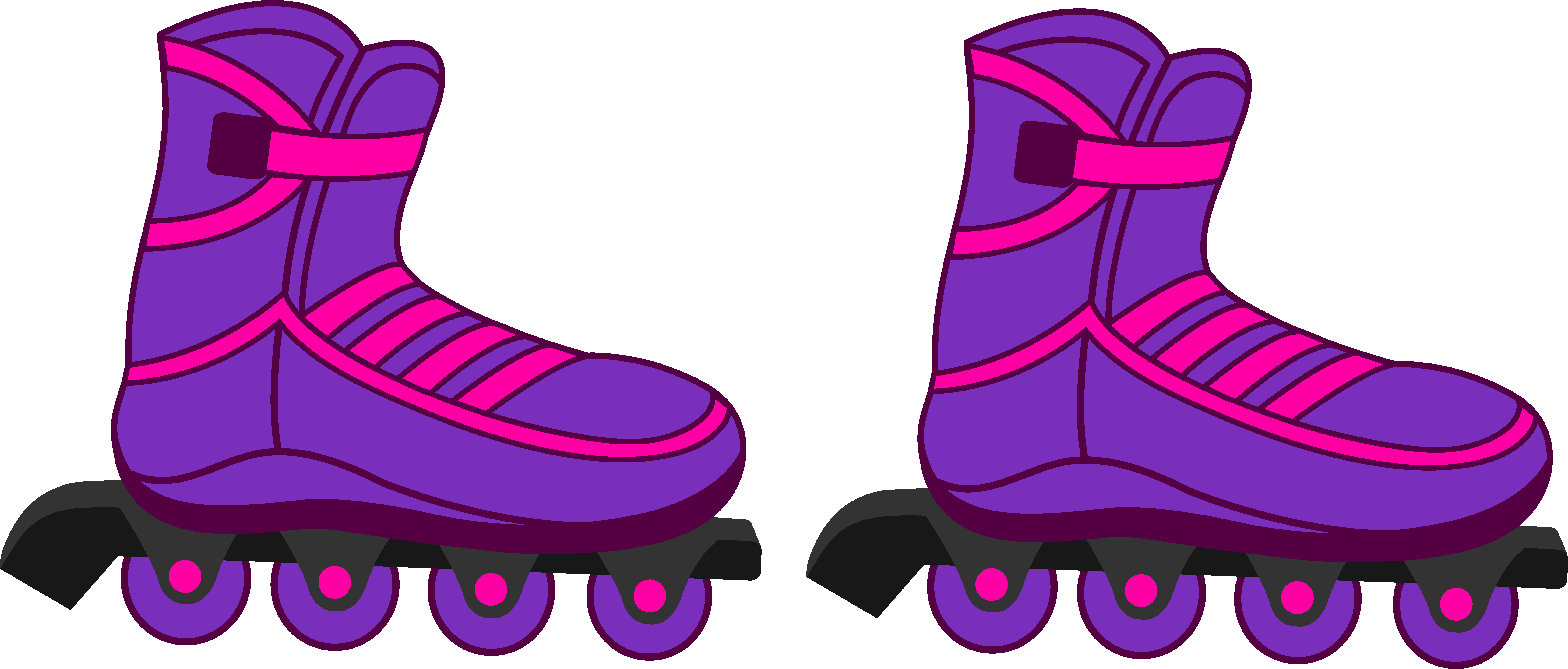 Blur clipart roller skate Roller and Rollerblades Pretty