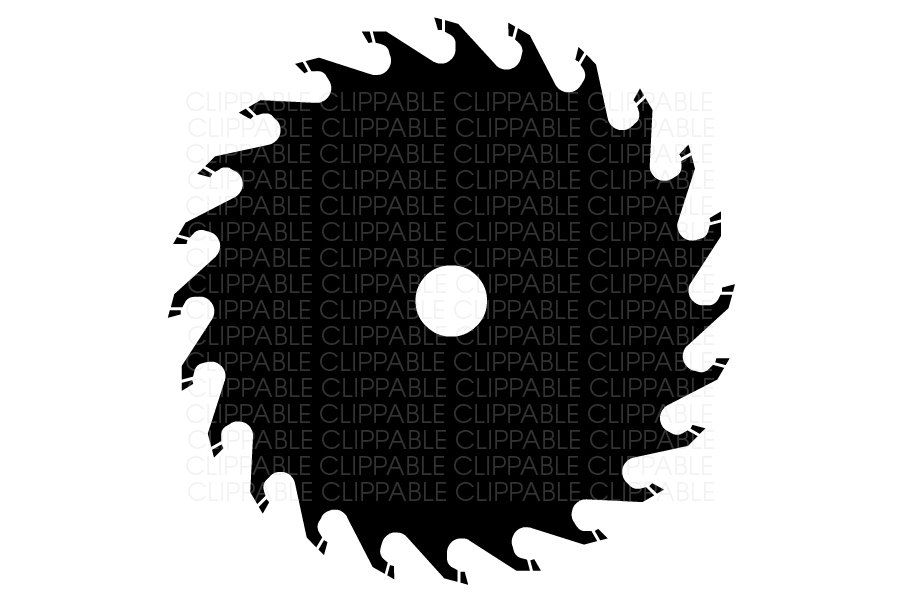 Blade clipart power saw Clip Instant Art PNG Digital